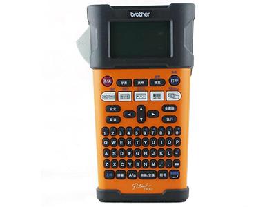 兄弟 PT-E300     手持便携式标签机;耗材宽度:3.5—18mm;手动剪切;内置条形码;可序号打印、多份打印