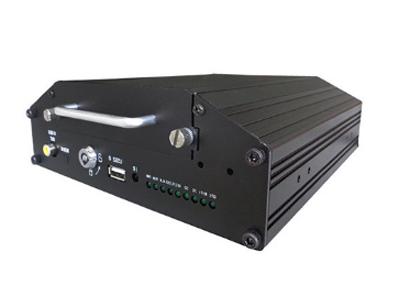 4路網絡車載硬盤高清錄像機 內置海思高性能圖像處理芯片 支持2.5寸硬盤儲存 SD卡儲存最大支持128G 硬盤加熱功能