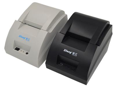 资江 ZJ-5890C   适应于各类商业零售POS系统等领域;内置电源结构,省去电源安装麻烦,结构更紧凑,外形更小巧精致;打印质量高,成本低;低噪声、高速度打印;支持钱箱驱动;易装纸结构,结构合理,使用维护简便;功耗小,运行成本低(无需色带、墨盒)