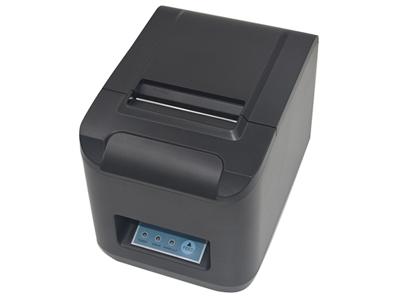 资江 ZJ-8320  1. 多接口可选,网口、并口、串口、USB、蓝牙。接口通讯支持安卓系统 ,低噪声、高速度打印。2.低噪声、高速度打印、功耗小、运行成本低(无需色带、墨盒)。3.易装纸结构,结构合理,使用维护简便。4.打印质量高,成本低,支持钱箱驱动; 适应于各类商业零售POS系统等领域。5.支持一维码、二维码打印。