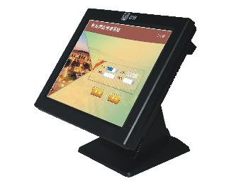 君容 C560+   主板:DC450工控主板;内存:DDR2 2G;硬盘:32G插卡电子硬盘;显示屏:15寸LED液晶屏;触摸屏:四线电阻触摸屏;顾显:LED8;电源:12V/5A;颜色:黑色;接口:USB 4个,串口:1个,并口:1个;