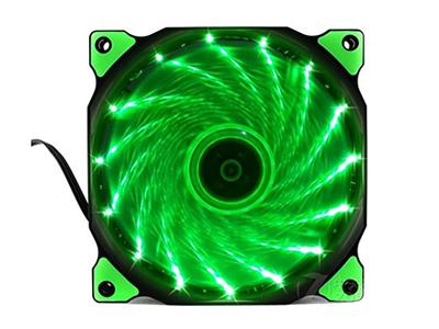 """游戏悍将风扇魔兽    """"散热器类型: 风扇 散热方式: 风冷 风扇尺寸: 120x120x25mm 轴承类型: 液压轴承(Hydraulic Bearing) 转数描述: 900±10\% RPM 噪音: 12-21dB"""""""