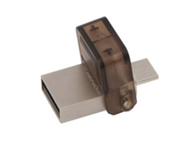 """金士顿手机优盘    """"接口类型: USB OTG,USB2.0,Micro USB 外形尺寸: 27.63*16.43*8.56mm 产品类型: 手机U盘"""""""