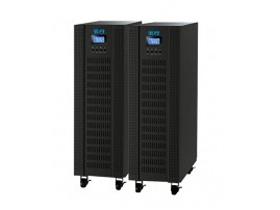 宝合 SC9330-X 10KS 1.真正实现高频在线双转换 2.运用DSP技术的高性能机器 3.输出功率因数可达0.8 4.电池数量可在16-20颗之间调整 5.可通过LCD与软件调整(0.5-6A)的充电电流 6.单相宽市电输入范围(110-300VAC) 7.紧急电源关闭(EPO) 8.ECO模式提供节能效果 9.三相输入均包括功率因数校正 10.三段式可扩展充电设计确保电池更优越的表现