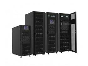 宝合  RM150K SC9330-RM模块化UPS电源具有体积小,密度大,高效节能,扩展性,便于安装、维护、更换、升级,冗余性,分散式并联逻辑控制,环保等性能。
