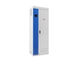 宝合 SC-YD EPS应急电源 1. 核心逆变部分采用了世界领先的IPM智能逆变模块,比传统的IGBT模块具有更完善的保护功能。IPM中的每个功率元件都设置有各自独立的驱动电路和多种保护电路,能够实现过电流,短路电   流,控制电压降低及过热保护等功能。并且在逆变器的输入回路设有熔断器和断路器等过流保护装置,熔断器设有熔断指示、以便维修人员进行维修和维护,对设备起到有效的保护作用。其工作更稳定可靠。 2. 充电器采用了恒压限流二段式充电的先进技术,提高了充电的效率,并可延长电池寿命,对电池充电具有全自动管理功能,并防止对蓄电池过充电