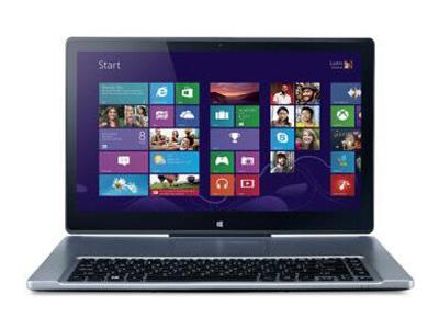 """宏基(Acer)R7-572G-74518G1Tass    """"处理器描述:Intel i7-4510U 内存容量:4G 硬盘容量:1000G 显存容量:2GB 分辨率:1920×1080"""""""