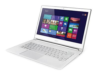 """宏基(Acer)S7-391-53334G25aws    """"屏幕尺寸: 13.3英寸 屏幕分辨率: 1920x1080 CPU型号: Intel 酷睿i5 3337U 核心/线程数: 双核心/四线程"""""""