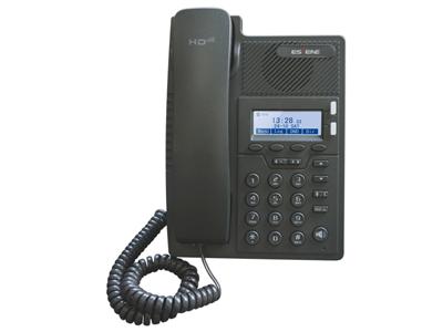 亿景 ES205-PN  支持手机通信助理软件EP+;配置可拆卸双角度调节支架, 共支持2种办公角度;支持5个可编程软键;支持POE、ECS自动配置;支持多国语言: 中文、英文、俄文、法文等;