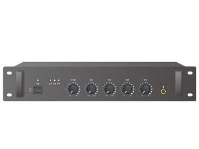 IP功放:CT-IP120Z CT-IP350Z CT-IP650Z    1. IP网络终端与合并式功放一体,100\%满功率输出,无虚标。2. 2U标准机箱设计,黑色氧化铝拉丝面板,带人性化的机箱拉手,美观实用。3. 采用先进高效的数字功放,发热量小;电路自带过压保护、过流保护、短路保护,保证性能安全可靠稳定。4. LED状态指示,可直观的指示当前工作状态。5. 支持本地话筒广播、线路广播、IP广播;话筒混音,网络和线路,网络优先。