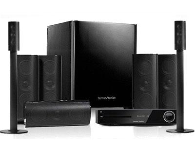 哈曼卡顿(Harman/Kardon)BDS880 5.1声道/3D蓝光播放机/蓝牙/4k/WIFI壁挂桌面式家庭影院组合套装