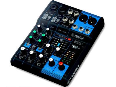 雅马哈 MG06X 6路带效果器调音台