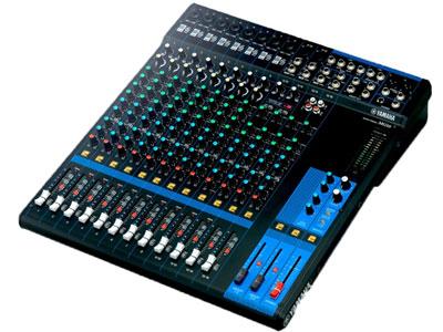 雅马哈 MG16 16路模拟调音台