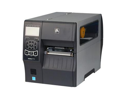 斑马 ZT410 300DPI 不干胶条码标签机带切刀带网口