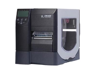 斑马 ZM400 203dpi 工业条码打印机 不干胶标签机条码机ZM600