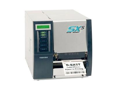 东芝 B-SX5T RFID标签打印机SX5t 300DPI工业条码打印机