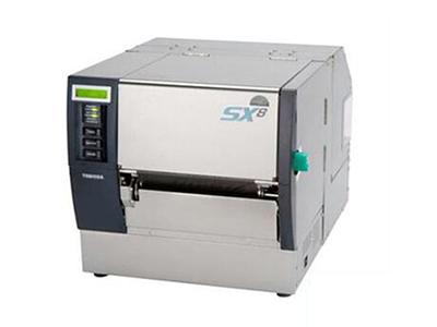 东芝 B-SX8T-TS12-CN  品类型:高性能打印机 打印头:悬压式 分辨率:203dpi 打印方式:直热 打印速度:最高355.6mm/s