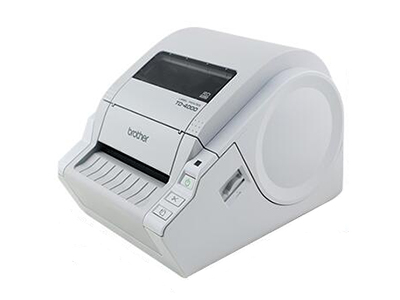 兄弟 TD-4000 电脑热敏条码机 便携标签打印机不干胶标签机 高精度 连接电脑打印 适于 医疗行业 工厂制造业 仓储物流 商品销售等