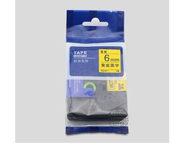 代用标签机色带 6mm精密零件专用标签纸 TEe色带TEe-211/611