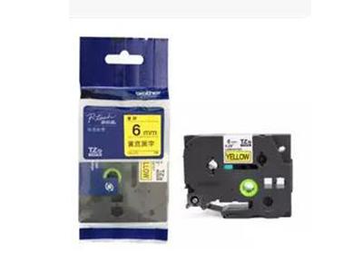 原装兄弟标签机色带6MMTZe-211TZ 611 9MM 12MM 18MM 24MM标签纸