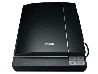 爱普生 V370 (A4,4800x9600dpi,四键,书籍轻松扫,底片扫描)