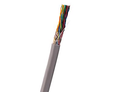 天誠 室內5類非屏蔽線纜(25對) 主要用于語音建筑垂直主干線。大對數雙絞線是樓宇主干不可或缺的環節,與110配線架設備結合,可實現語音或數據(100MHz)交叉傳輸及配線。