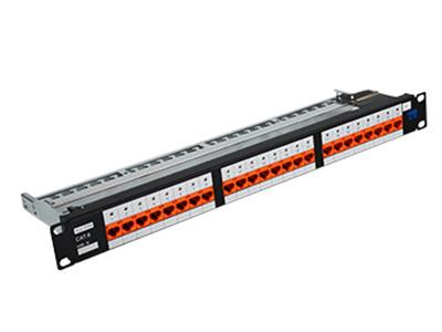 天誠 24口六類非屏蔽配線架 1000 BASE-T千兆以太網;100 BASE-T快速以太網;10 BASE-T以太網;語音,視頻及其它應用管理區域內語音、數據等信息的連接