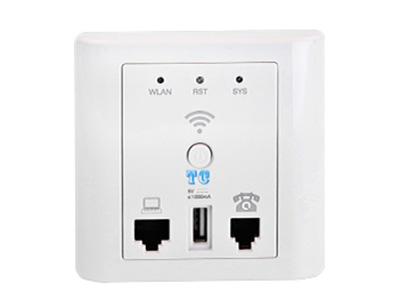 天誠 86型Wifi面板    ● 輸入電壓范圍要求寬:DC5V-12V都能適應(以適應長線衰減現象); ● 采用電源模塊或POE方式供電;負載電流13dBm(20mW);