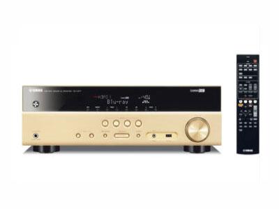 河南舒之耳音響新品推薦:雅馬哈/Yamaha RX-V377 5.1家用AV功放機 大功率 專業影吧數字 金色   客戶熱線: