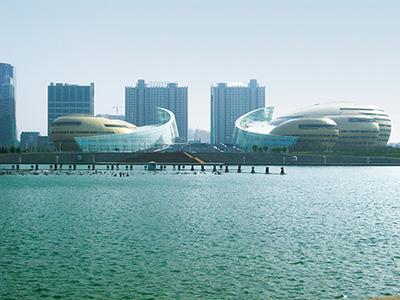 河南省藝術中心--龍浩通信公司