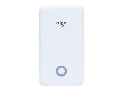 """爱国者K10    """"适用设备:普通移动电源 产品类型:通用分体式 输入接口:Micro USB 输出接口:双USB输出 电池类型:锂电池 电池容量:10000mAh 转换率:90\%(恒定电流1A)"""""""