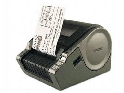兄弟 QL-1050   热敏电脑标签机,耗材宽度:最宽102mm,打印速度:110mm/秒