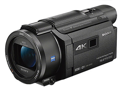 Sony/索尼 AXP55 数码摄像机     产品类型:4K摄像机;产品定位:家用摄像机;光学变焦:20倍;最低照明度:4K标准模式:9lux;存储介质:SD/SDHC/SDXC卡;存储容量:64GB;
