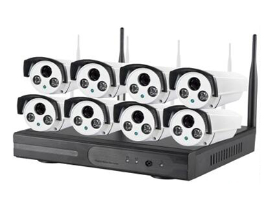 无线套装 8L-TZ832-720P 8路无线套装/100万高清像素/8个无线网络摄像机/含电源 支架/1个8路无线NVR主机含电源鼠标/中性产品