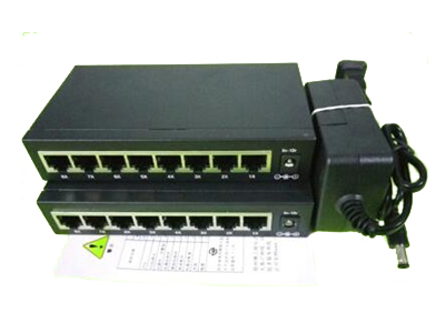 汉邦 HBZG-MS02-8B 8口百兆以太网交换机   电源电压:5V2A 应用层级:二层 传输速率:10/100Mbps 交换方式:存储-转发 包转发率:10Mbps:14880pps 100Mbps:148800pps