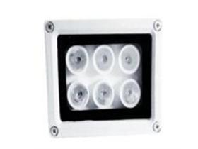 """6灯白光灯(220V) """"灯管数量:6颗1W大功率LED白光点阵灯; 输入电压:AC220V; 外壳材质:全铝合金外壳; 防护等级:IP65; 启动方式:光控开关自动控制,精准的恒流驱动电路 功    率:6W"""""""