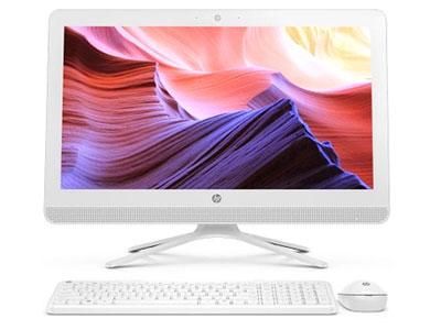 惠普 20-c026cn  Intel 奔腾四核核心数双核心/双线程 内存容量4GB硬盘容量1TB 屏幕尺寸19.45英寸摄像头内置 家用一体电脑操作系统Windows 10