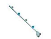 顺安居 AS-CLG21I 规格:Φ21mm*1.5mm*850                                  颜色:灰白色; 材质:铝合金管 (喷砂氧化铝)                             特点:造型高档、整体安装效果美观