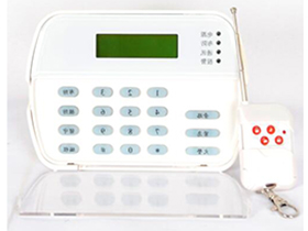 顺安居 AS-90 LCD键盘,编程、显示,配联网报警主机