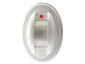 顺安居 AS-912 双元红外方向性幕帘探测器 高端家庭适用,方向性双元红外幕帘探测器8M,自动温度补偿,防白光干扰(高品质款)