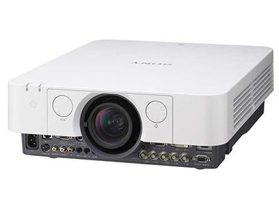 索尼F400X    大范围镜头位移,1.6倍变焦, VGA DVI接口, 中置镜头, 专业工程机种