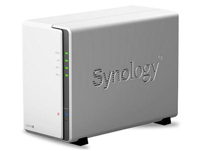 群晖DS216J网络存储器NAS家庭云存储服务器家用