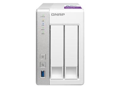 威联通QNAP TS-231P NAS网络存储服务器 云存储服务器 2盘位NAS