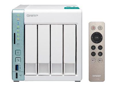 威联通QNAP TS-451A NAS 网络存储 2G 4G内存 4盘位