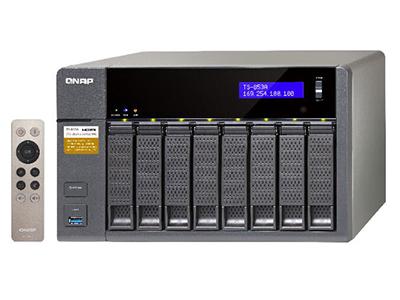 威联通QNAP TS-853A 网络存储NAS 四核处理器 双系统串联HDMI输出