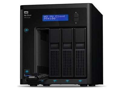 西部数据 PRO4100 网络存储 NAS服务器 云存储 西数智能存储