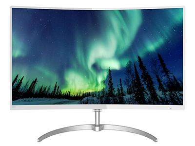 """飞利浦278E8QSW    """"产品类型: LED显示器,广视角显示器,曲面显示器 产品定位: 大众实用 屏幕尺寸: 27英寸 面板类型: MVA 最佳分辨率: 1920x1080 可视角度: 178/178° 视频接口: D-Sub(VGA),DVI"""""""