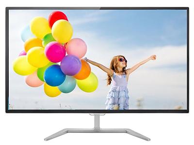 """飞利浦323E7QSA    """"产品类型: LED显示器,广视角显示器 产品定位: 电子竞技,设计制图 屏幕尺寸: 32英寸 面板类型: IPS 最佳分辨率: 1920x1080 可视角度: 178/178° 视频接口: D-Sub(VGA),DVI 底座功能: 倾斜:-5-10°"""""""