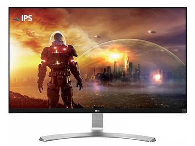 "LG 27UD68    ""产品类型: 4K显示器,LED显示器,广视角显示器 产品定位: 电子竞技,设计制图 屏幕尺寸: 27英寸 面板类型: IPS 最佳分辨率: 3840x2160 可视角度: 178/178° 视频接口: HDMI×2,Displayport 底座功能: 倾斜:-2-15°"""