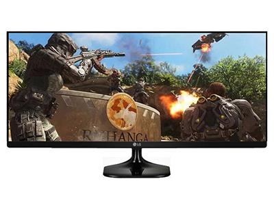 "LG 29UM58-P    ""产品类型: LED显示器,广视角显示器,护眼显示器 产品定位: 电子竞技,设计制图 屏幕尺寸: 29英寸 面板类型: IPS 最佳分辨率: 2560x1080 可视角度: 178/178° 视频接口: HDMI×2 底座功能: 倾斜:-5-20°"""